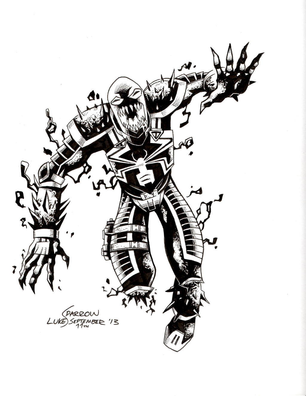templating agent - agent venom coloring pages to print coloring pages