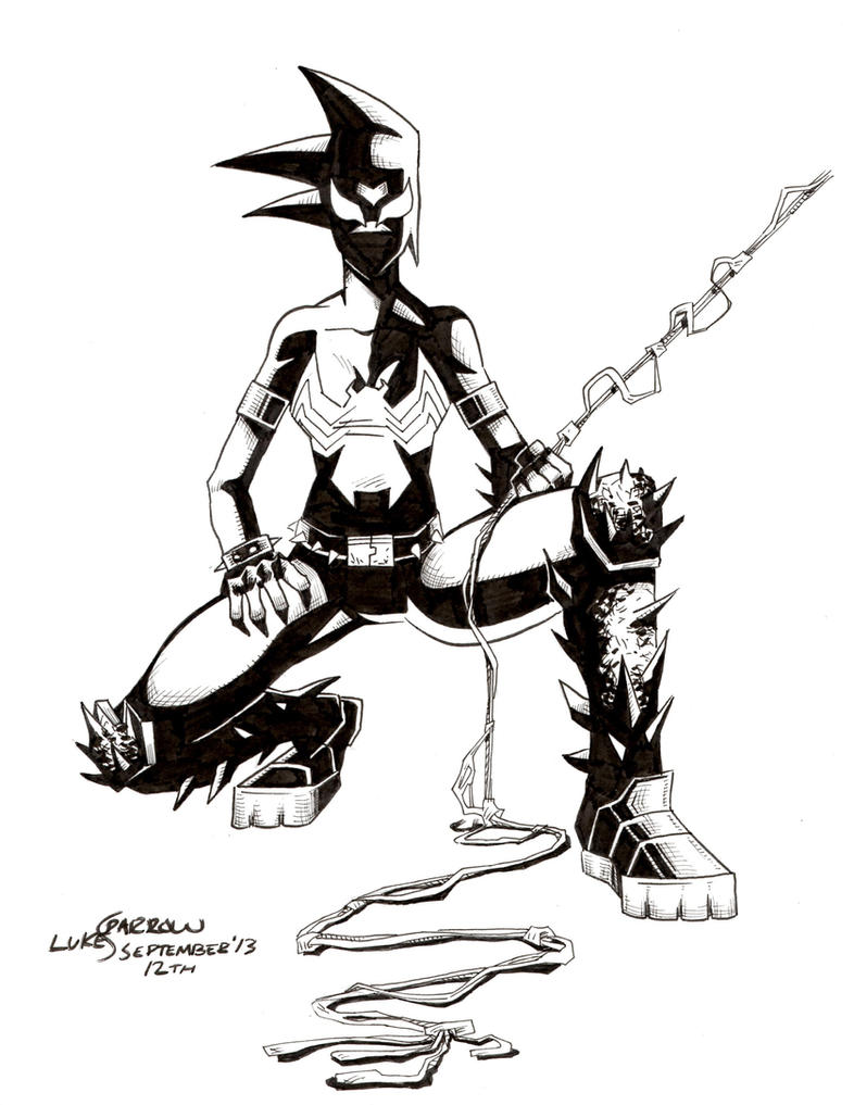 Mania Symbiote by lukesparrow on DeviantArt