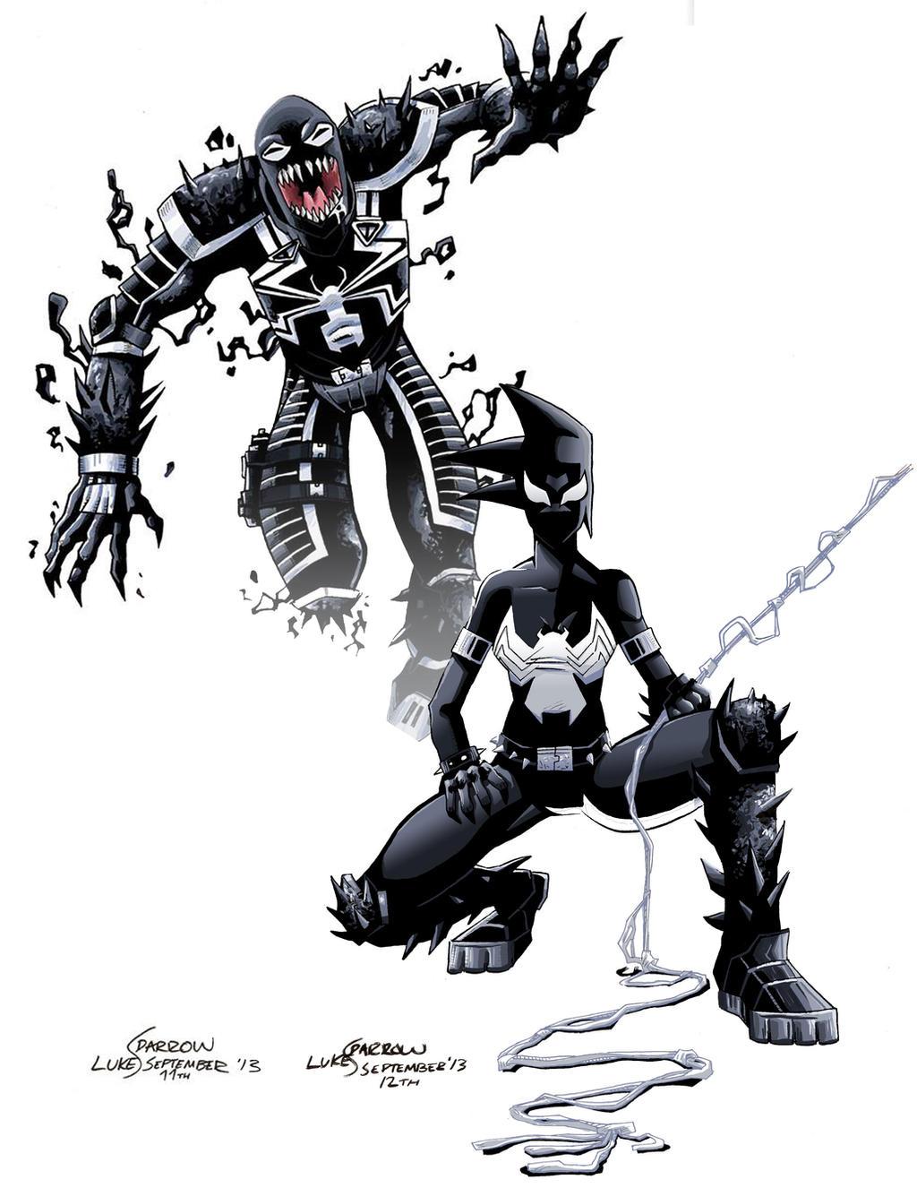 Venom and Mania by lukesparrow on DeviantArt