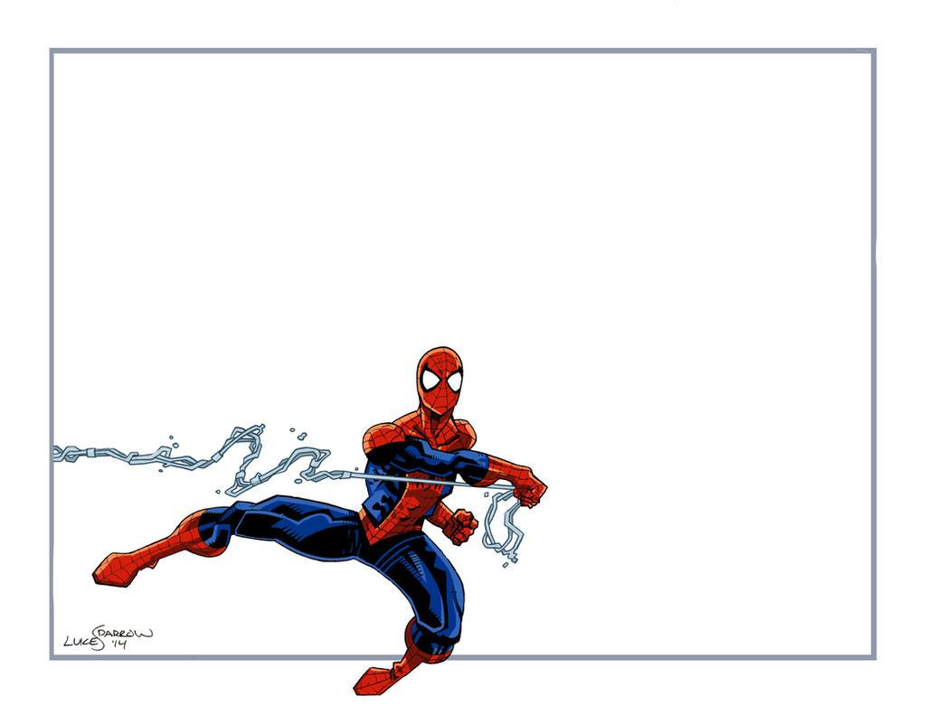 Spider-Man Thank You Card by lukesparrow on DeviantArt