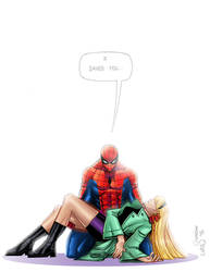 The Night Gwen Stacy Died by lukesparrow