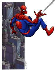 Spider-Man by lukesparrow