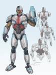 DCEU Cyborg Redesign