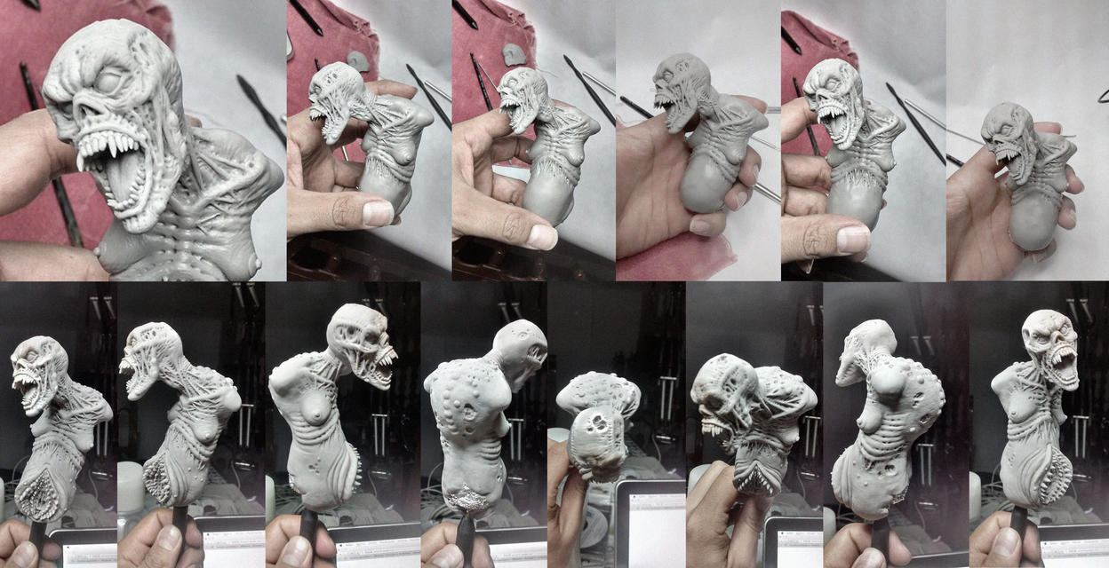 Crypt Monster w.i.p 1 by joeytheberzerker