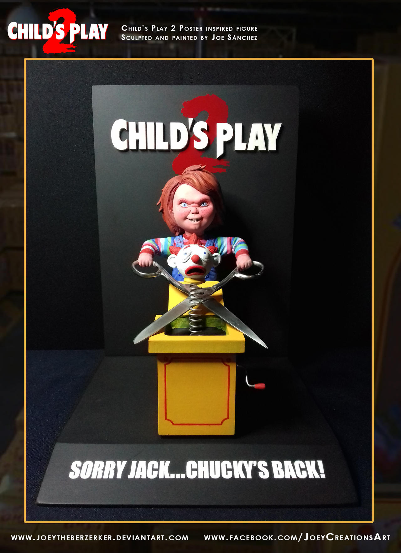 Child's Play 2 Poster replica 5 by joeytheberzerker on ...