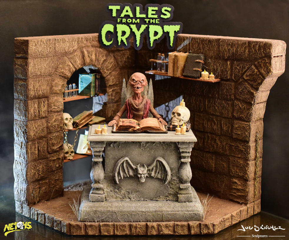 Tales from the crypt Diorama pic 1 by joeytheberzerker