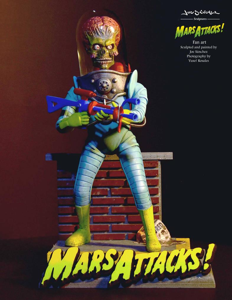 MARS ATTACKS - FOOT SOLDIER 1 by joeytheberzerker