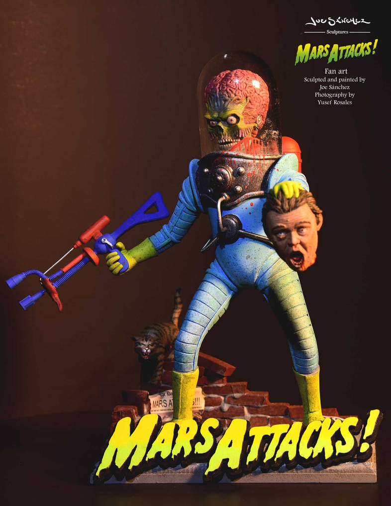 MARS ATTACKS - FOOT SOLDIER 2 by joeytheberzerker