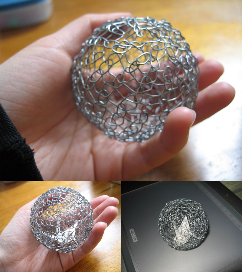 Wire sculpture test1 by vitong4 on deviantart for How to make a wire sculpture