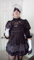 My cosplay of 2b from NieR Automata (part one)