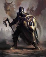 warrior by kingkostas