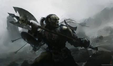 OrcWarrior by kingkostas