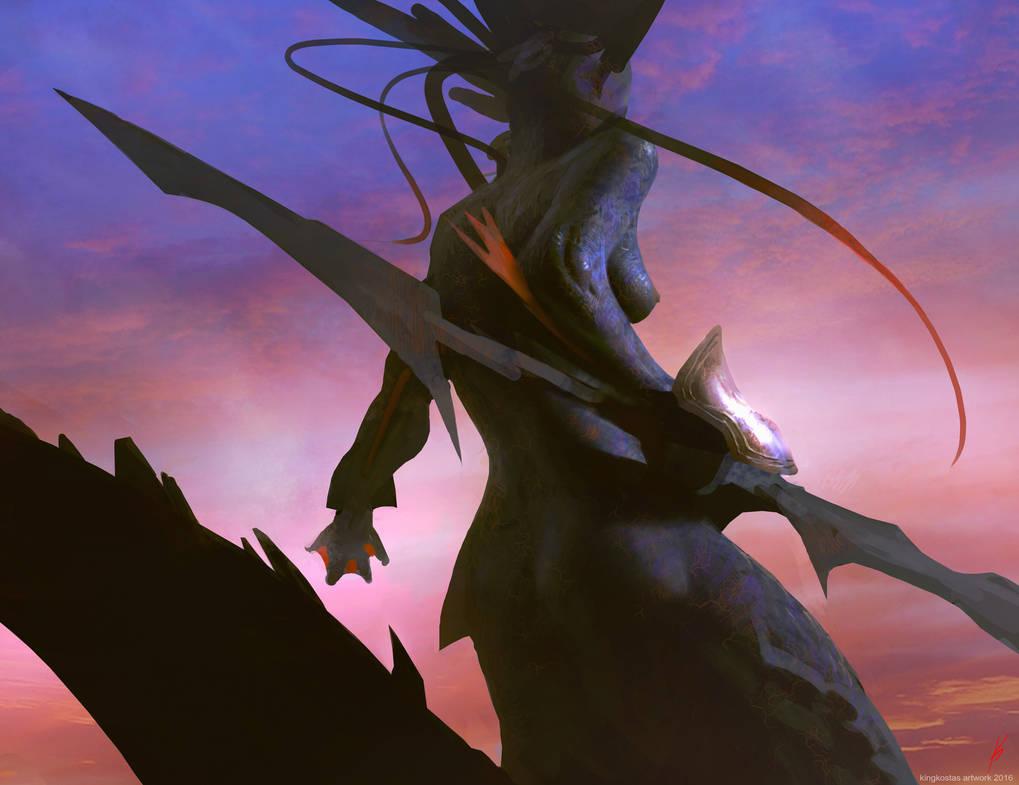 SeaFolk-Warrior by kingkostas