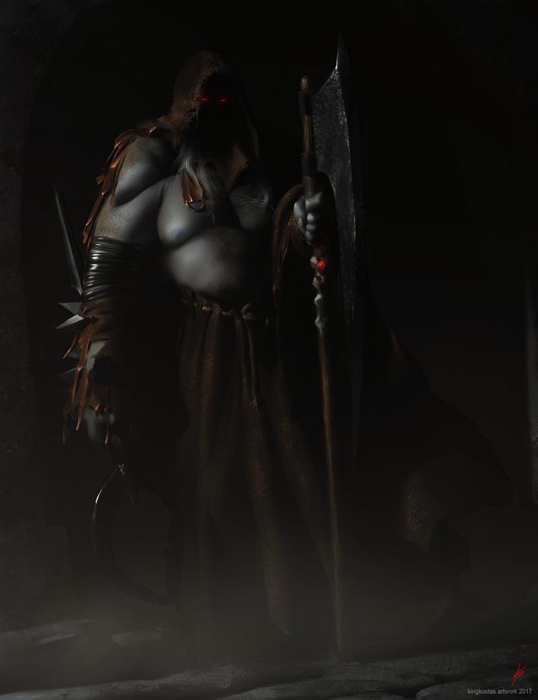 DarkWarden-FullRES by kingkostas