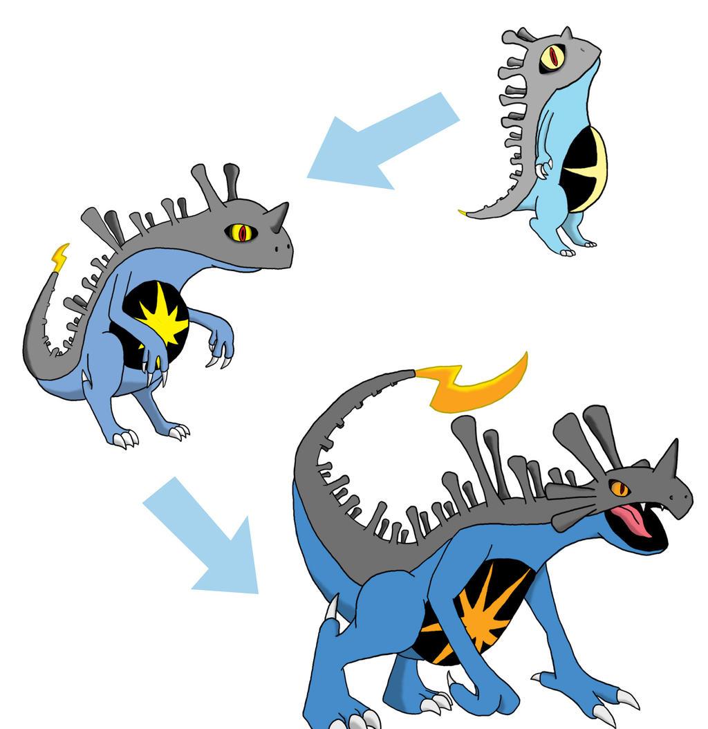 Sean made some Pokemon Evolution! by LongSean22 on DeviantArt