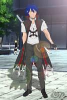Burn the Witch OC: Kenichi Striker by Tyron91