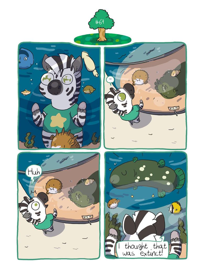 Zebra Crossing #69 by ccartstuff