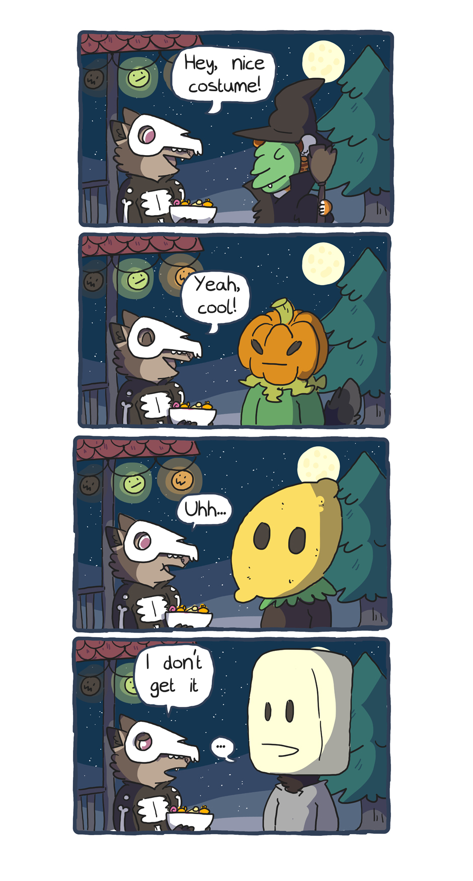 spooky masks by ccartstuff