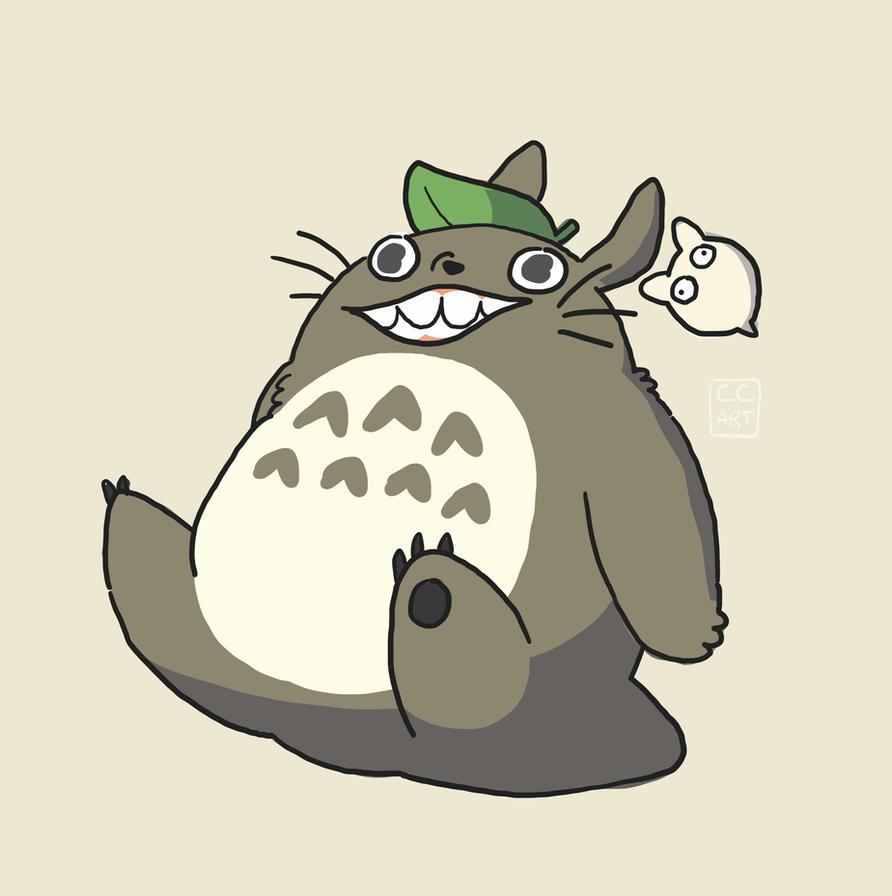 Totoro by ccartstuff