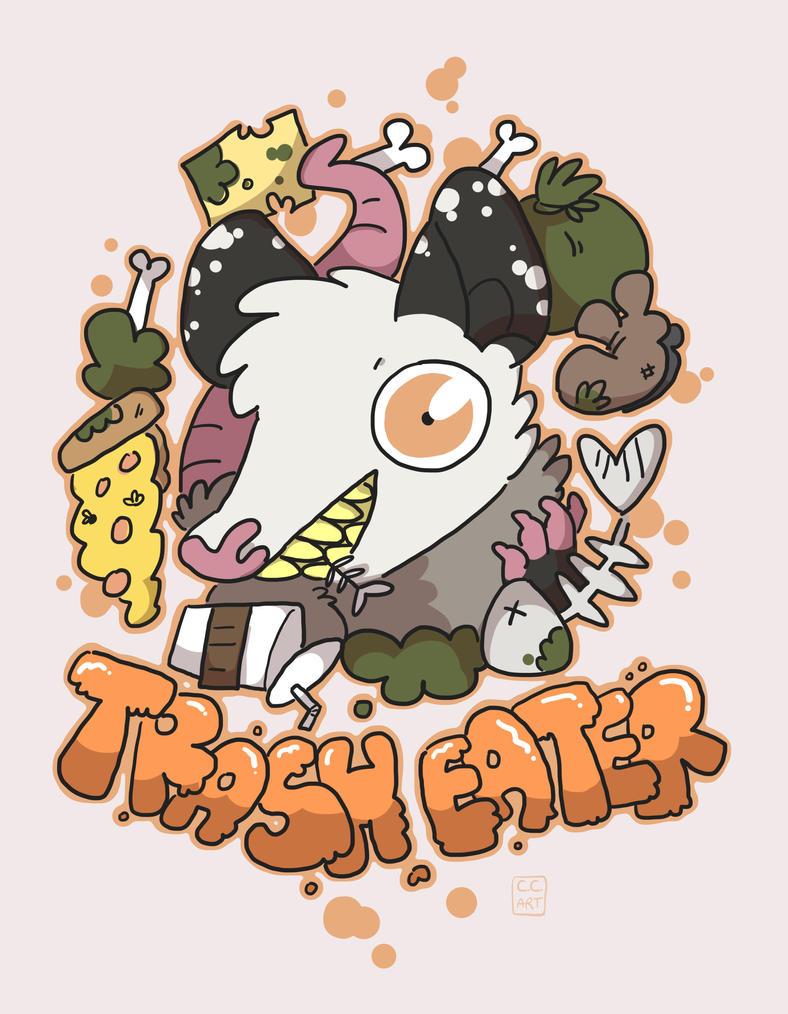 Trash Eater by ccartstuff