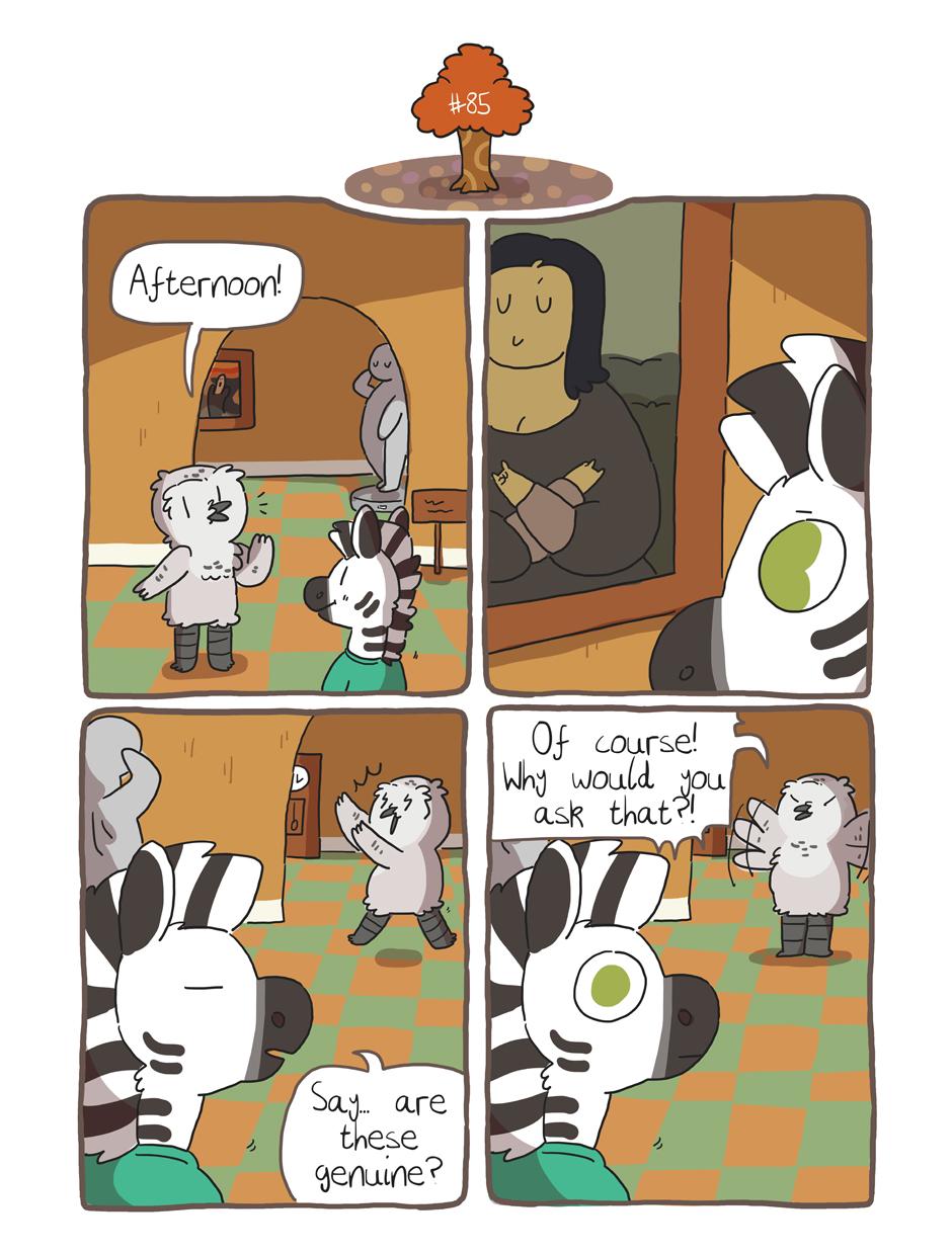 Zebra Crossing #85 by ccartstuff
