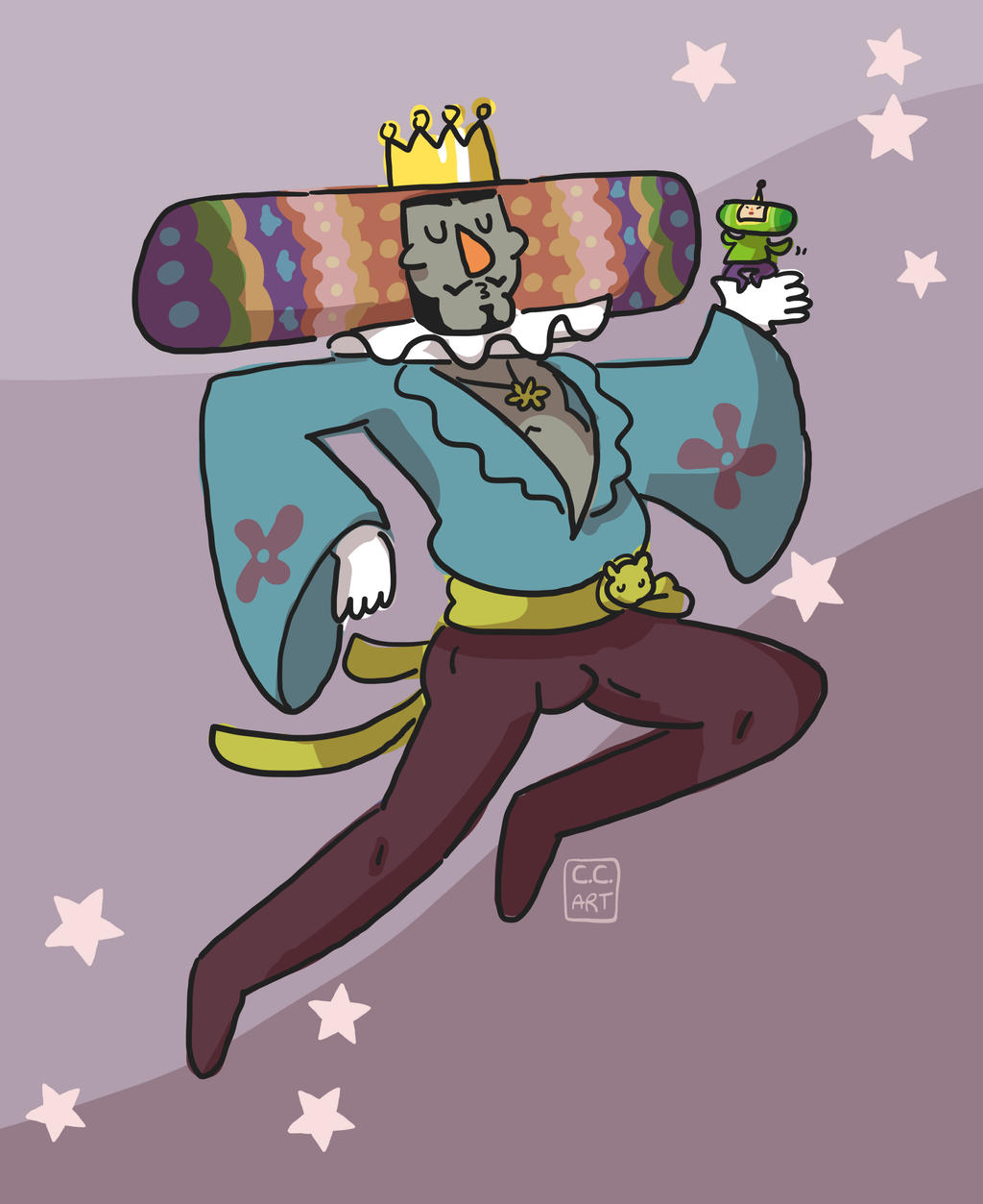 King by ccartstuff