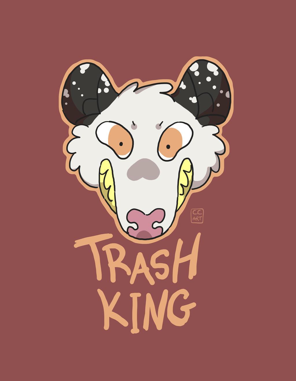 Trash King by ccartstuff