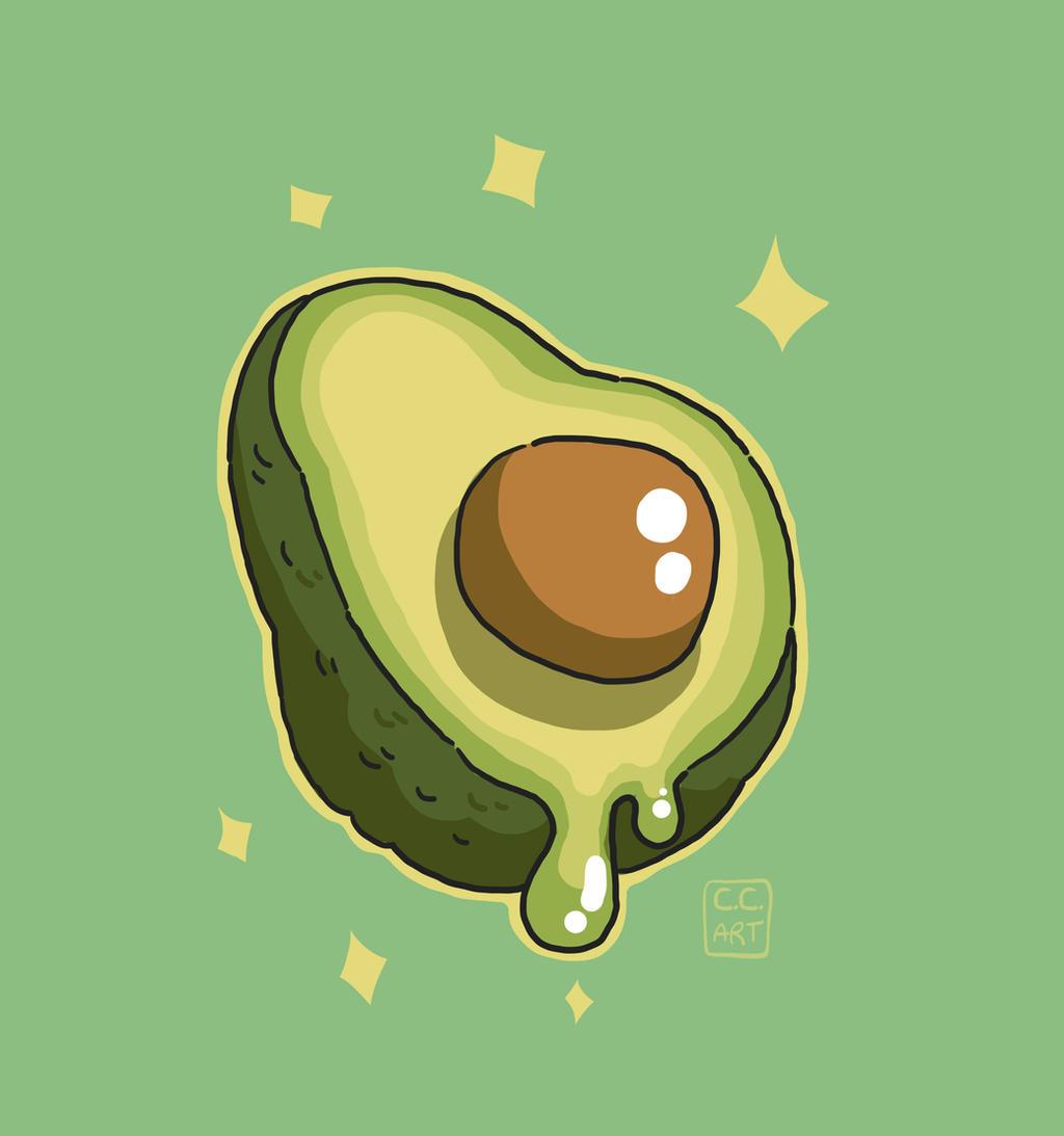 avocado by ccartstuff