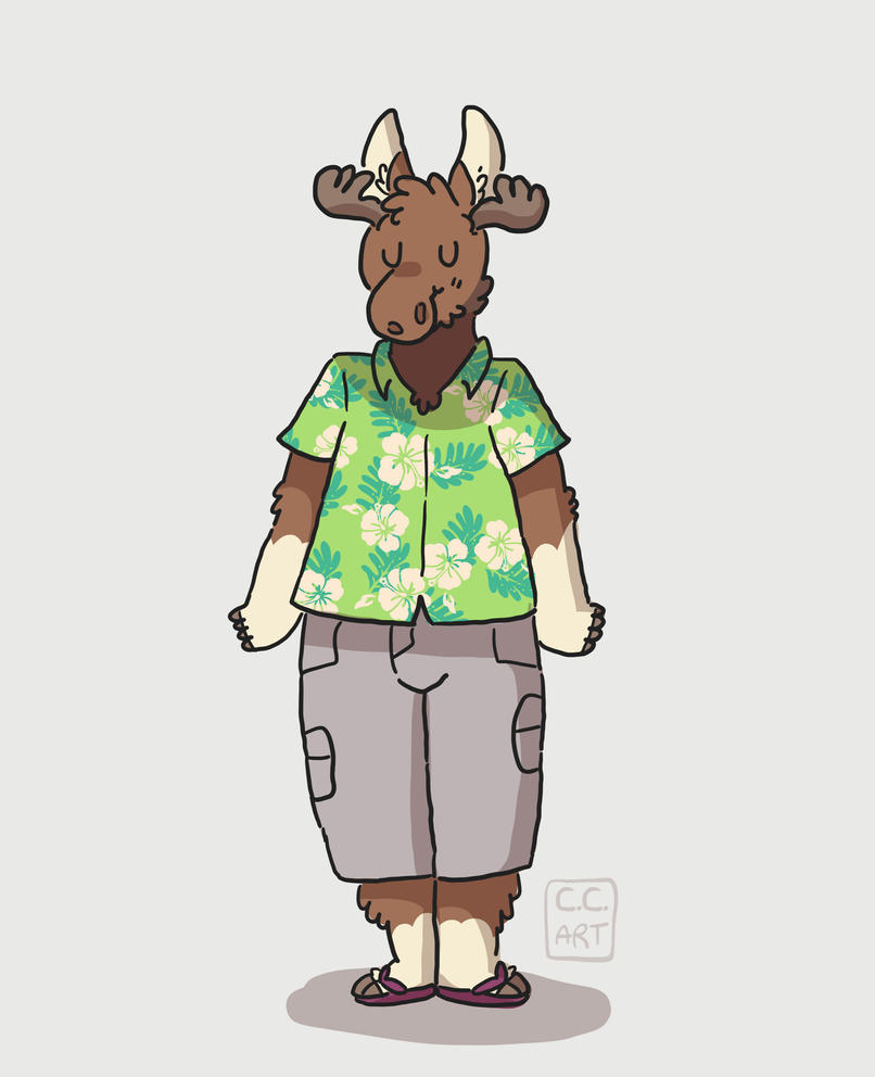 moose by ccartstuff