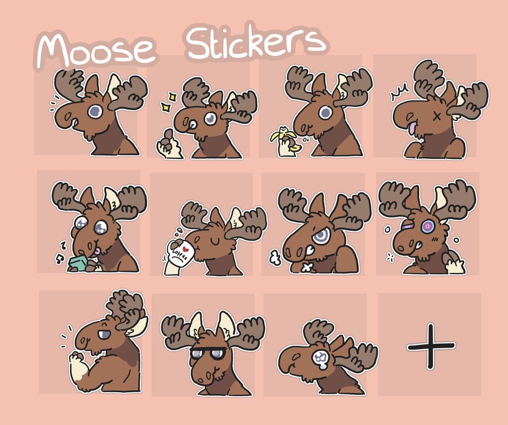 mooses by ccartstuff