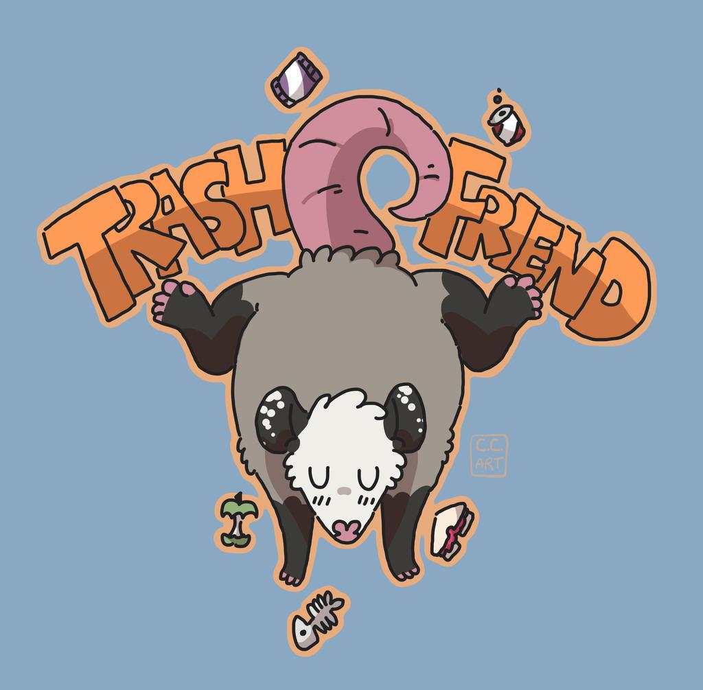 trash friend by ccartstuff
