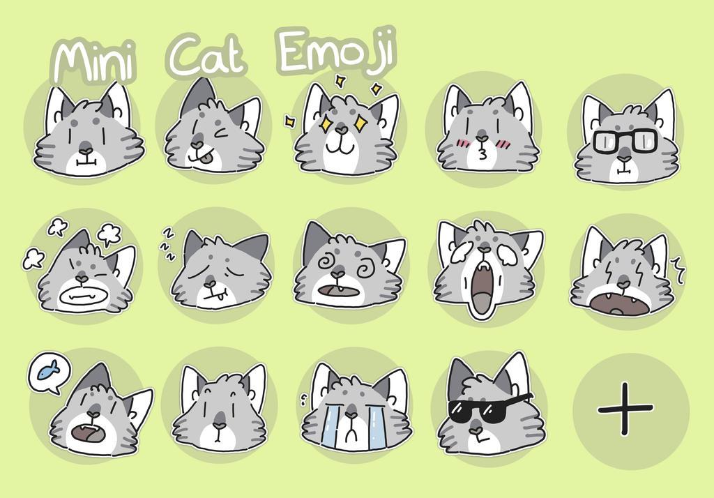 mini telegram cats by ccartstuff