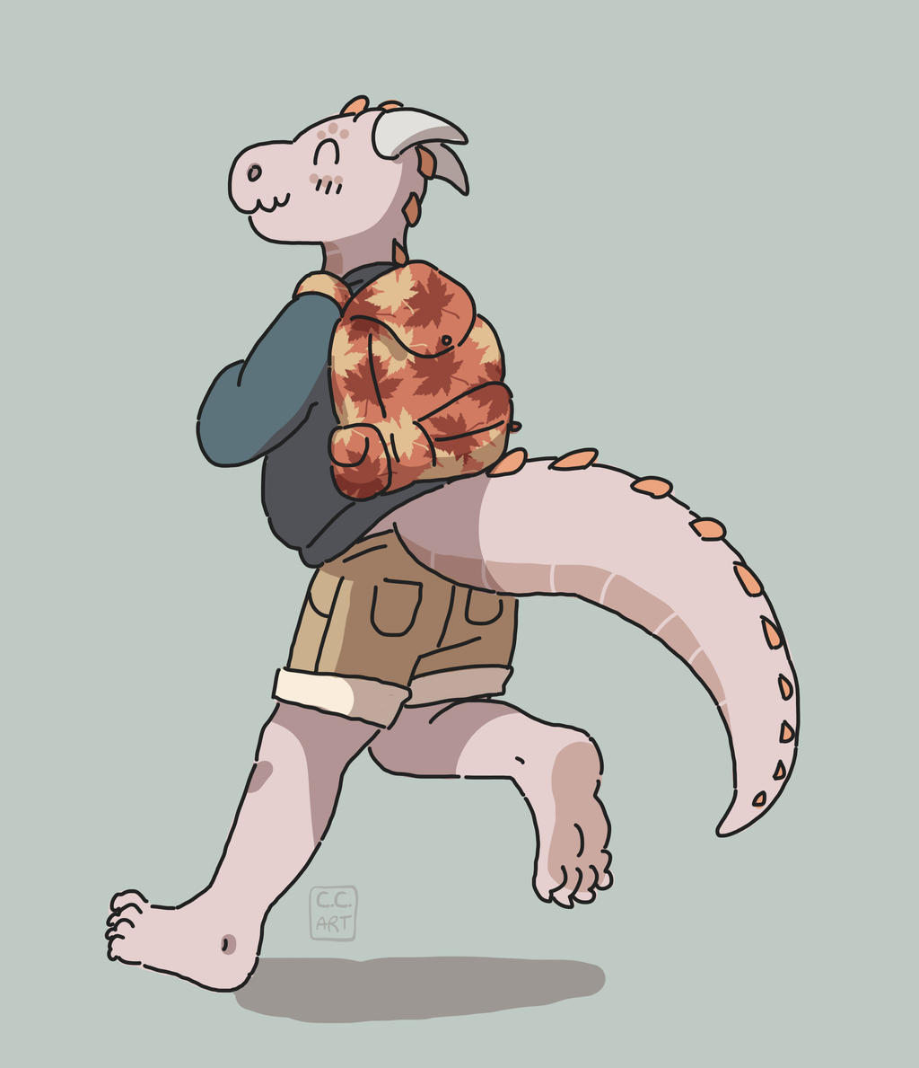backpack by ccartstuff