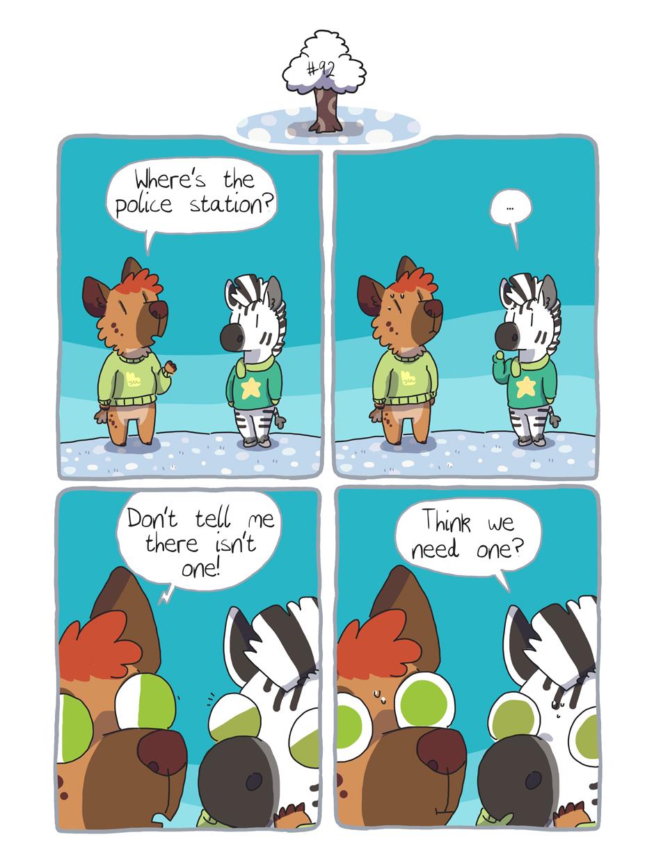 Zebra Crossing #92 by ccartstuff