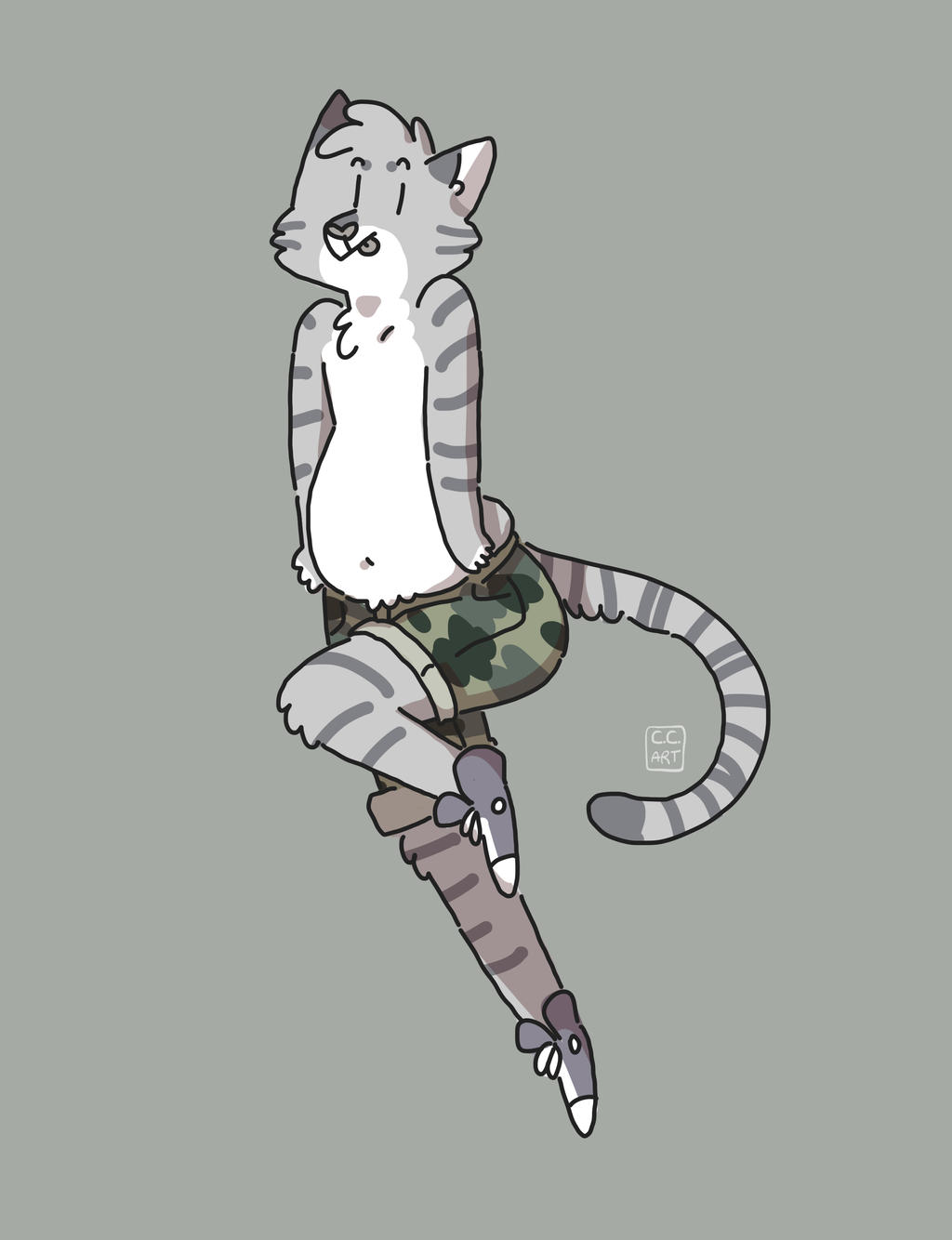 fab cat by ccartstuff