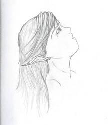 Girl Angeth by ishrahsan