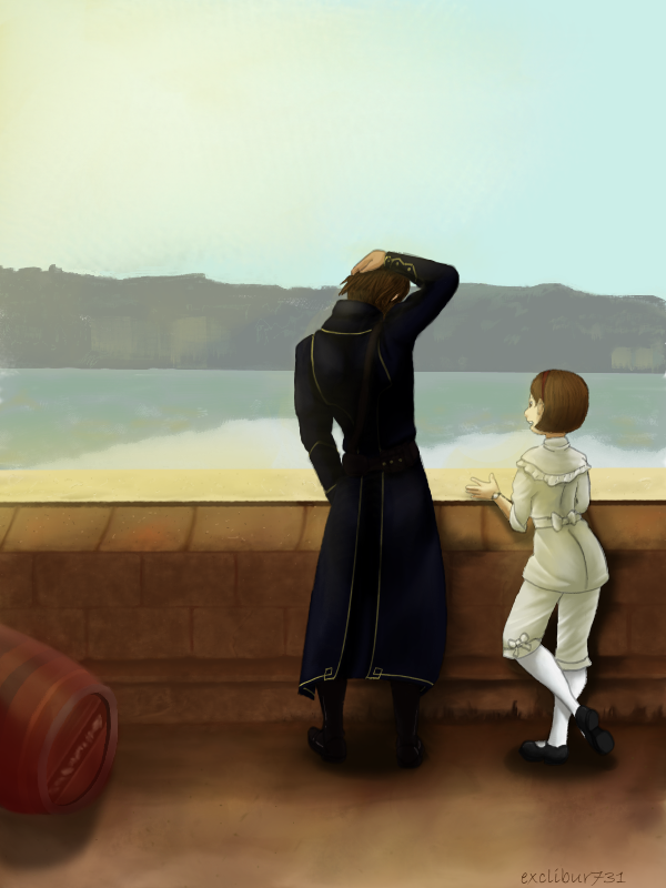 Corvo and Emily by Tea-and-Strawberries