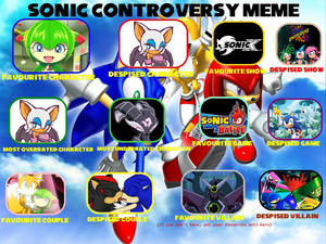 Sonic The Hedgehog Controversy Meme