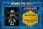 Achereaper - Medabots Vital Stats by Hexidextrous