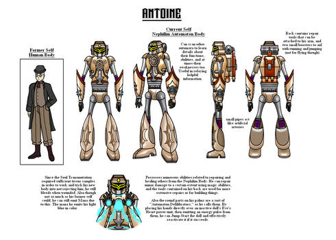 Antoine - Machine Doll FC Reference Sheet