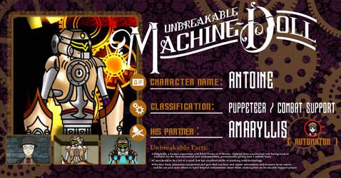 Machine Doll Antoine Profile