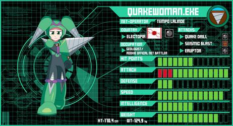 QuakeWoman Data Card