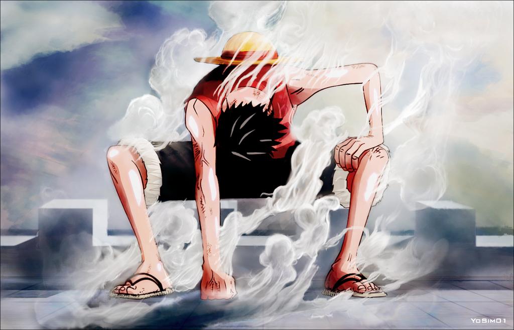 One Piece Luffy Gear Third