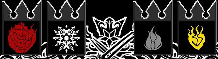 Kingdom Hearts And RWBY Galaxy Note 2 Dock by XIIIRoxas13