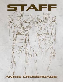 Anime Crossroads 2010 Staff-T