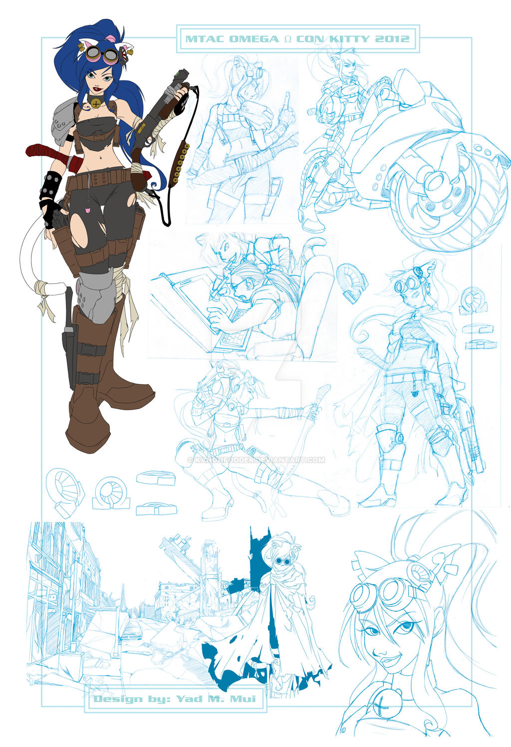 2012 MTAC Conkitty concept sketch page.