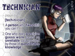 Definition: Technician