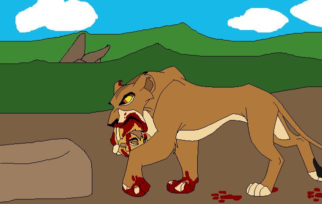 Kopa's Story - Página 7 Zira_killed_kopa_remake_by_meduza12-d49fs3n