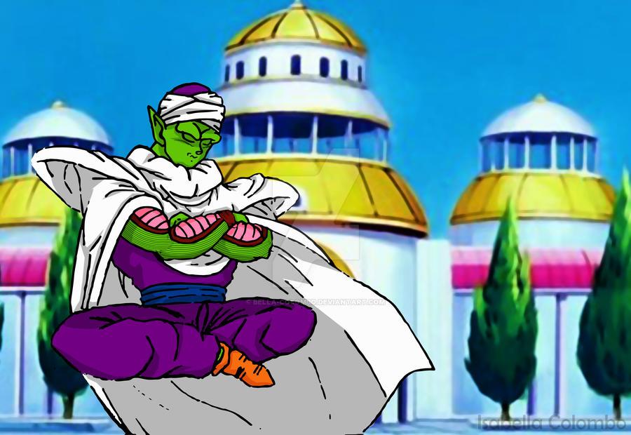 Piccolo meditating