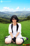 Waiting for Training - Videl Cosplay by Bella-Colombo